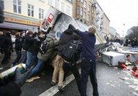 23 участника антимигрантских беспорядков задержаны в Копенгагене