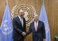 Лавров обсудил Сирию с генсеком ООН