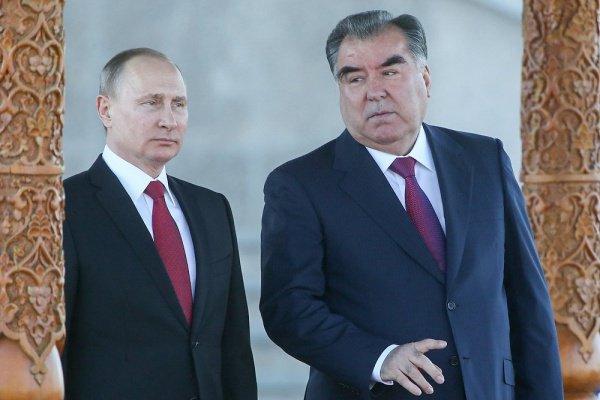 Путин и Рахмон проведут встречу в Москве.