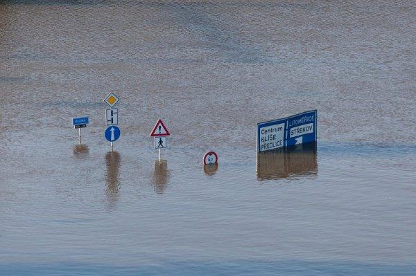 Увеличение температуры вызовет более мощные штормы, ураганы и экстремальные осадки