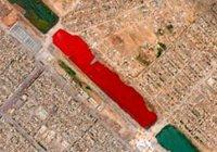 «Кровавое озеро» обеспокоило Интернет-пользователей