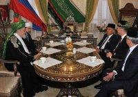 Минниханов и Таджуддин обсудили развитие исламского образования