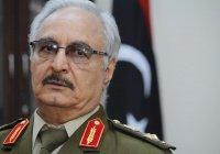 Прокуратура Ливии выдала ордер на арест маршала Хафтара