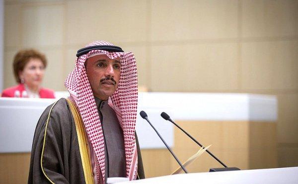 Марзук Али Мухаммед аль-Ганим в Совете Федерации.