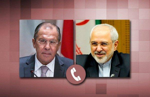 Главы МИД России и Ирана обсудили международную повестку.