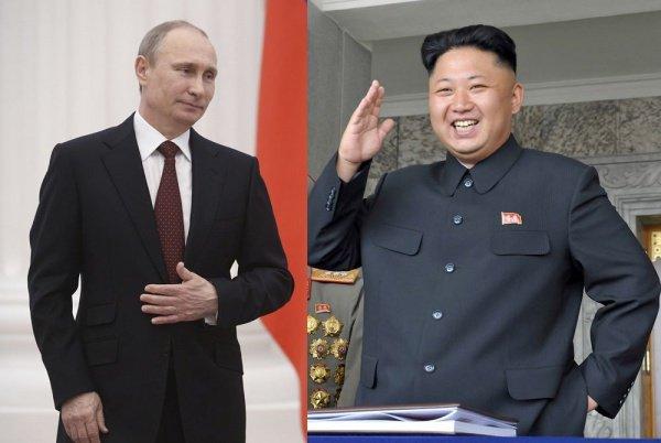 Лидеры РФ и КНДР встретятся во Владивостоке.