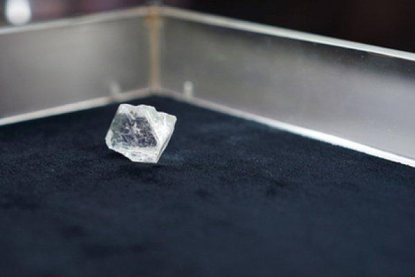 Это крупнейшая находка за последние 2 года среди алмазов ювелирного качества на данном руднике