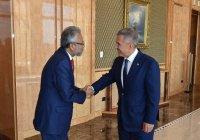 Минниханов встретился с генсеком Организации экономического сотрудничества Исламской восьмерки