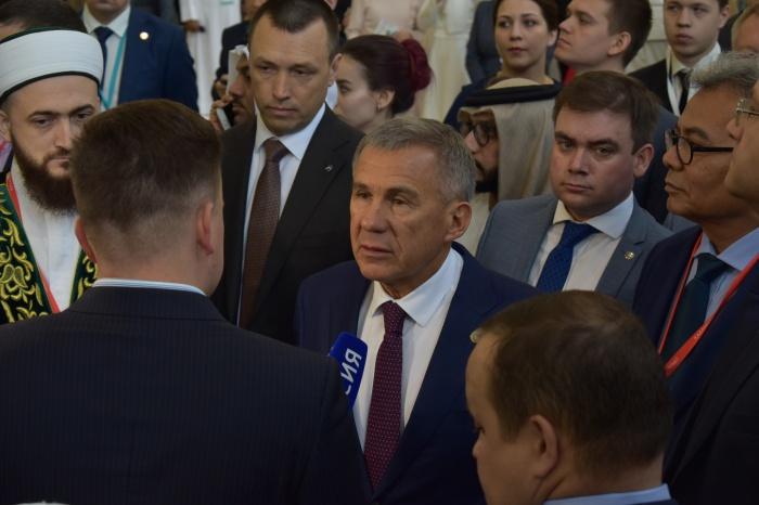 Рустам Минниханов посетил Kazansummit-2019 (ФОТОРЕПОРТАЖ)