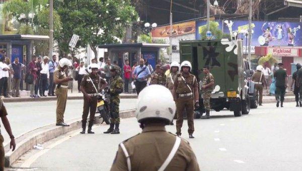 Новый взрыв в Шри-Ланке.