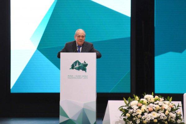 Минтимер Шаймиев выступил на пленарном заседании KazanSummit.