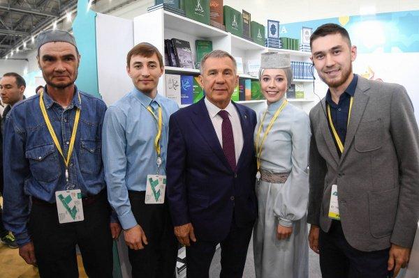 Молодые предприниматели презентовали свои проекты президенту РТ.