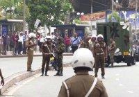 После терактов начальник полиции Шри-Ланки ушел в отставку