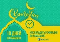 Готовимся к Рамадану: как наладить режим дня до начала поста