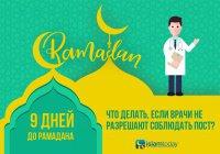 Готовимся к Рамадану: что делать, если врачи не разрешают соблюдать пост?