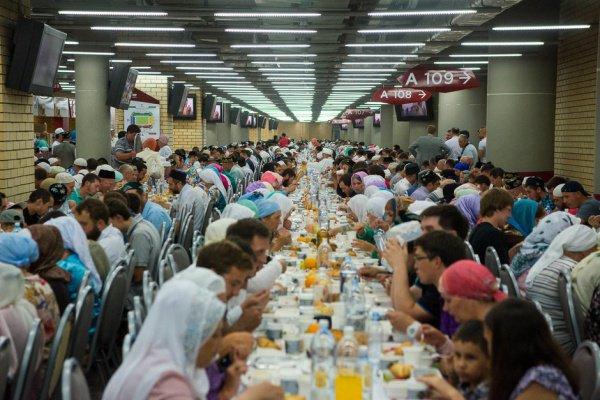Республиканский ифтар соберет 15 тысяч гостей.