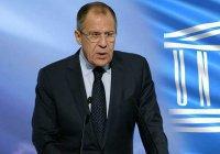 Лавров: Россия надеется на участие ЮНЕСКО в восстановлении в Сирии