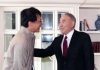 Нурсултан Назарбаев встретился с Джеки Чаном (ФОТО)