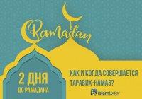 Готовимся к Рамадану: когда в этом году будет прочитан первый таравих-намаз?