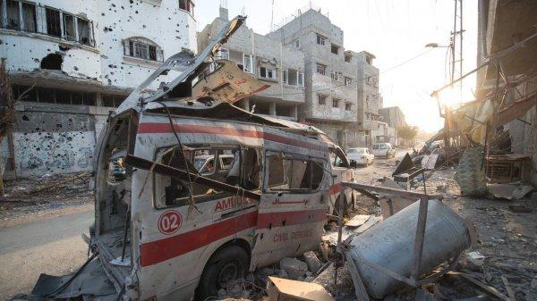 Палестина призвала СБ ООН вмешаться в ситуацию в секторе Газа.