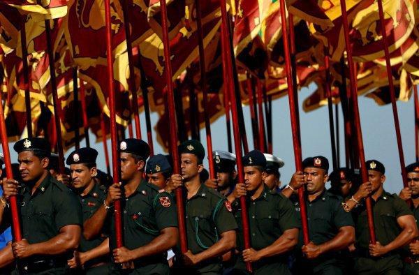 Военные ведомства России и Шри-Ланки буду укреплять сотрудничество.
