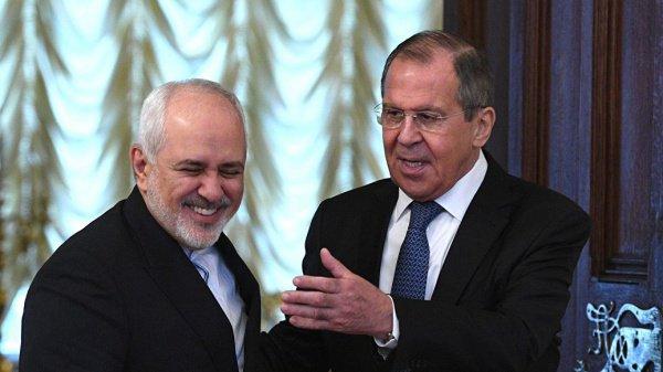 В Москве состоялись переговоры Лаврова и Зарифа.