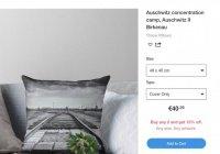 В США раскритиковали сайт за продажу одежды с изображением Освенцима