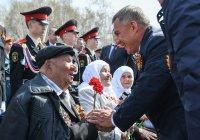 Рустам Минниханов поздравил татарстанцев с Днем Победы