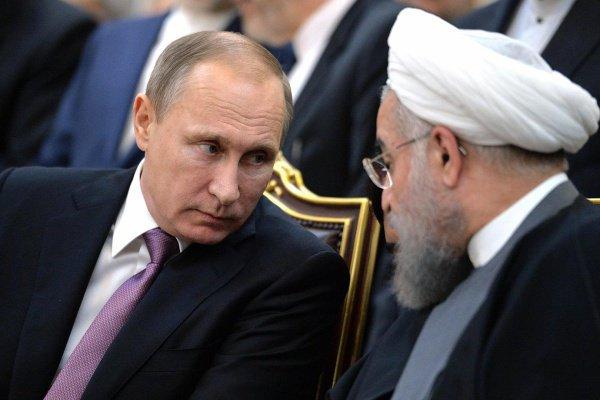 Роухани передал послание Путину.