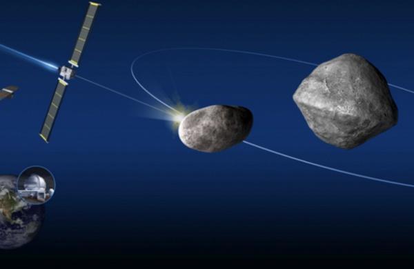 65803 Didymo пройдет на расстоянии 10,9 млн. км от нашей планеты в октябре 2022 года