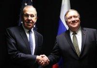 Помпео назвал темы предстоящих переговоров с Лавровым