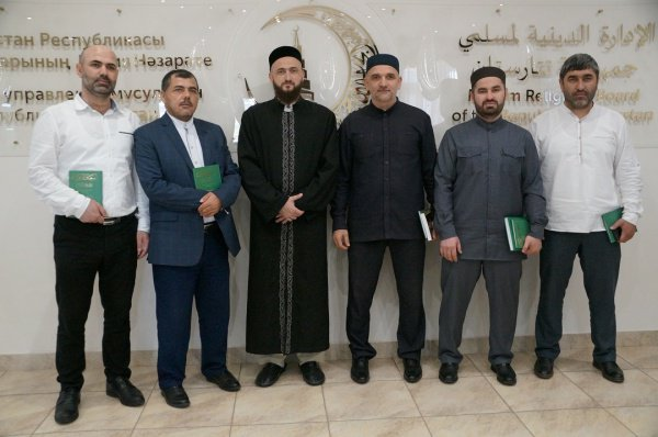 Камиль Самигуллин с гостями из Дагестана.