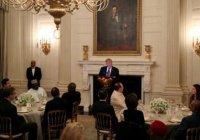 Трамп принял участие в ифтаре в Белом доме