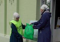 Малоимущие семьи получили продовольственную помощь от ДУМ РТ