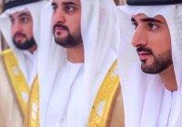Трое сыновей правителя Дубая женились в один день