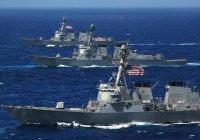США перебросили в район Персидского залива семь военных кораблей