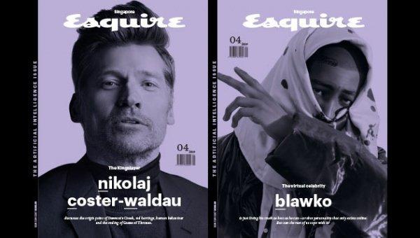 Даже на обложке апрельского номера представлены сразу 2 героя