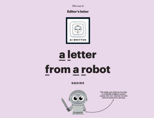 Апрельский выпуск писали и редактировали как редакторы-люди, так и бот AI Squire