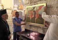Россия передала сирийской церкви копию средневековой иконы