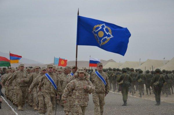 Военные учения ОДКБ пройдут в России, Киргизии и Таджикистане