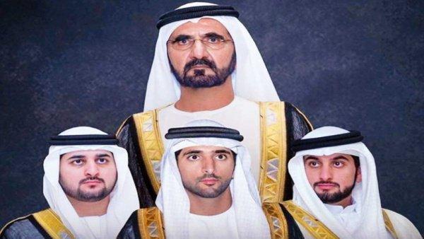 Трое сыновей правителя Дубая женились в один день.