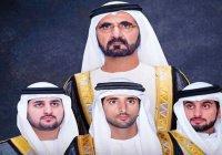 Правитель Дубая посвятил поэму женитьбе сыновей