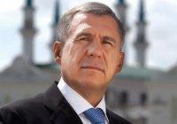 Рустам Минниханов поздравил татарстанцев с Днем принятия Ислама Волжской Булгарией