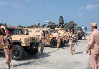 У Голан прошли совместные учения российских и сирийских военных