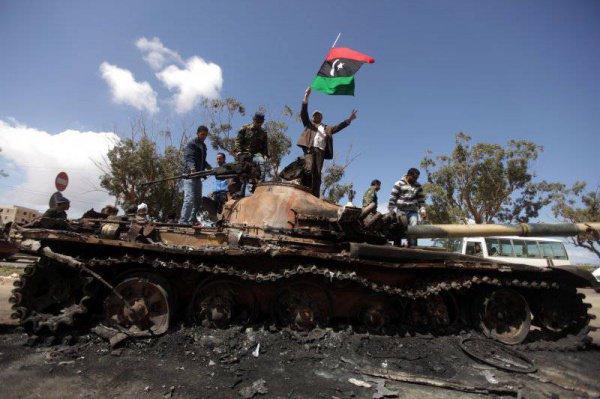 В Ливии - новая эскалация насилия.