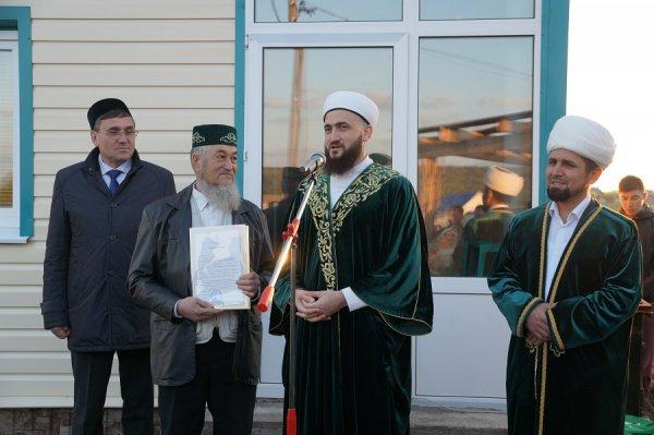 В Бавлах в Рамазан открылась новая мечеть