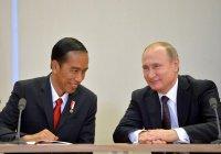 Путин поздравил президента Индонезии с переизбранием