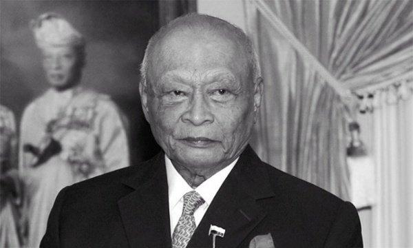Cултан Ахмад Шах скончался в Малайзии.