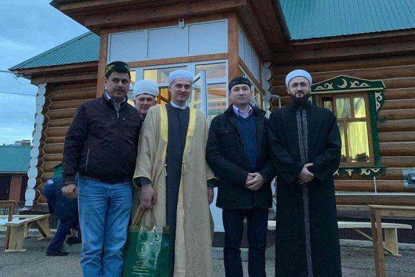 Камиль хазрат посетил ифтар в Пестречинском районе.
