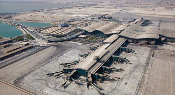 """Аэропорт """"Хамад"""" в Дохе."""